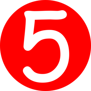 red-rounded-with-number-5-md