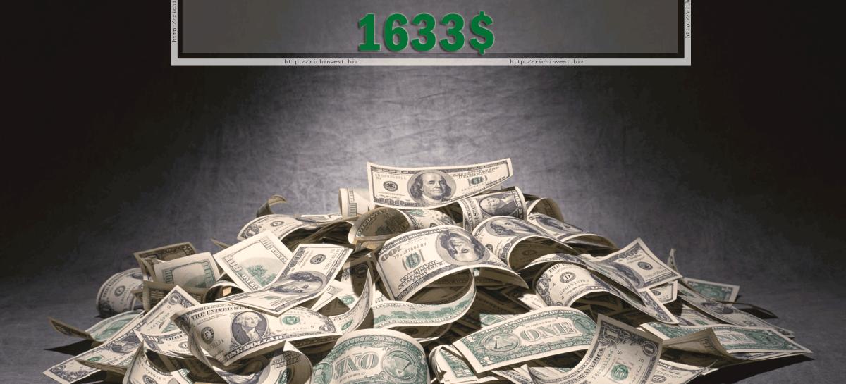 Отчет по торговле на бинарных опционах за 11.01.16 — 15.01.16