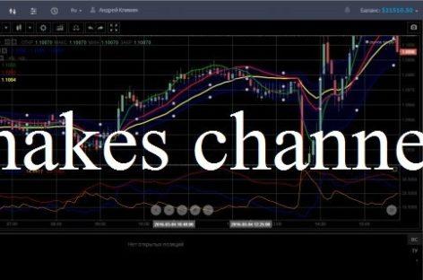 Эффективная стратегия для бинарных опционов «Snakes channel»