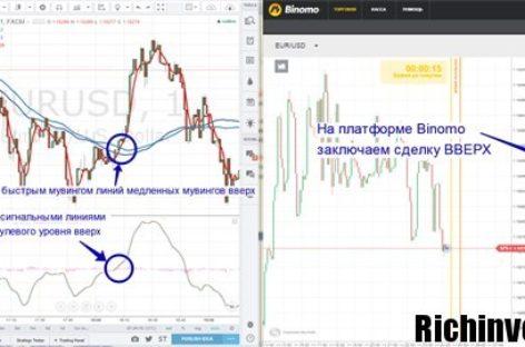 «Сrafty serpent» — модель ведения торговли бинарными опционами