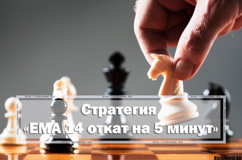 Стратегия для бинарных опционов «EMA 14 откат 5 минут»