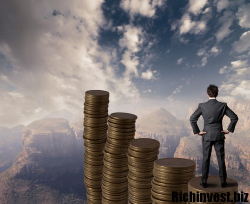 Concept of business and money growth