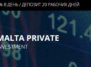Malta Private Investment  — новая компания в моем инвестиционном портфеле!