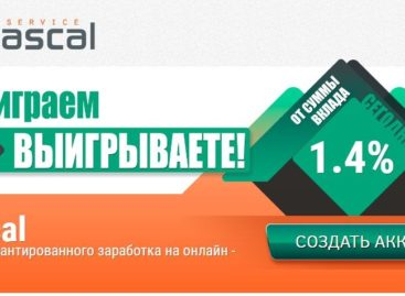 Pascal Service: обзор и отзывы о новом перспективнейшем проекте!