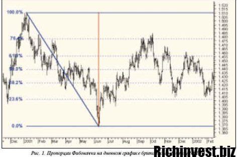 Как работает пропорция золотого сечения на Forex?