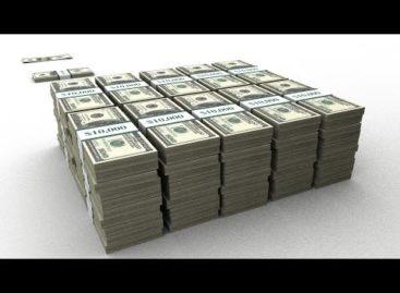 Как выглядит миллион и миллиард долларов США (видео)