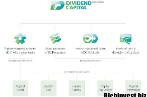 Dividend Capital — инвестируйте в финансовый холдинг прибыльно!