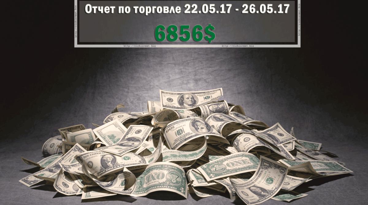Отчет по торговле на бинарных опционах за 12.06.17 — 16.06.17