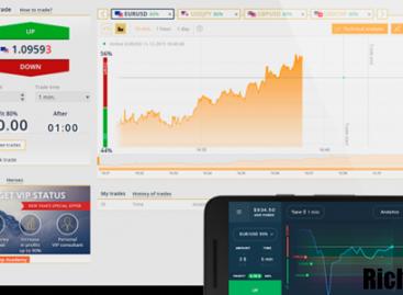 Мобильная версия Олимп Трейд для Андроид и IOS