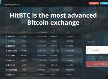 Обзор биржи криптовалют HitBTC