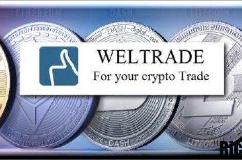 Торгуй криптовалютой с проверенным брокером WELTRADE