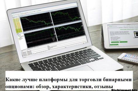 Какие лучше платформы для торговли бинарными опционами: обзор, характеристики, отзывы