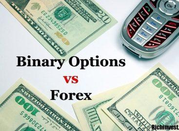 Чем отличаются Бинарные Опционы от Форекса и что лучше выбрать